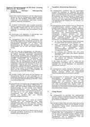 Allgemeine Vertragsbedingungen der IDS Scheer ... - Software AG