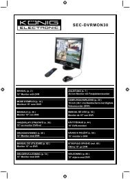 DVR - digitální rekordér - Stručný návod k obsluze - Deramax