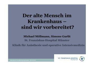 Der alte Mensch im Krankenhaus - Biersdorfer ...