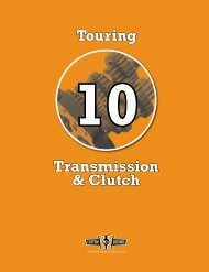 Transmission & Clutch Touring - Custom Chrome