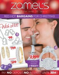 Red Hot bargains foR CHRistmas! PaY nO dePosit, nO ... - Zamel's