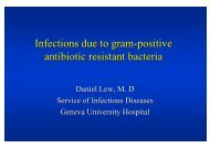 Infections - Swiss Society for Infectious Diseases