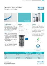 Product Survey Twist & Fix filter cartridges - Freudenberg Filtration ...
