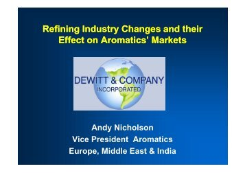 Refining Industry Changes and their Refining Industry ... - pptfun