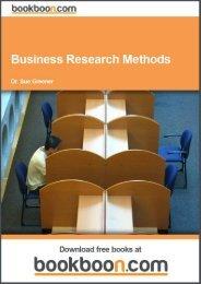 Business Research Methods Language English Format - Tutorsindia