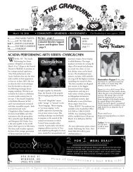 March 4, 2010 - The Grapevine