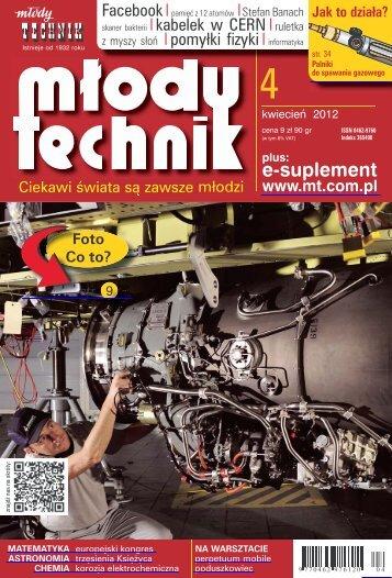 Młody Technik, kwiecień 2012 - UlubionyKiosk