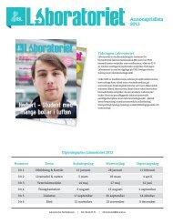 Annonsprislista 2013 (Svenska) - Institutet för biomedicinsk ...