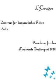 Zentrum für therapeutisches Reiten Köln - Der Voltigierzirkel eV