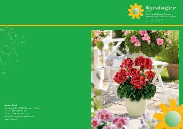 Topf- & Jungpflanzen 2013 - 2014 - Gastager GmbH