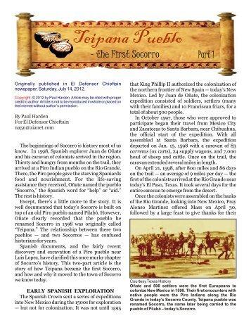 Part 1 - El Camino Real International Heritage Center