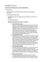 Newsletter Nr. 15 vom 01.11.2012 - Irantia