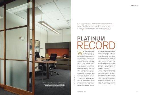 Platinum Record Lighting Design Alliance