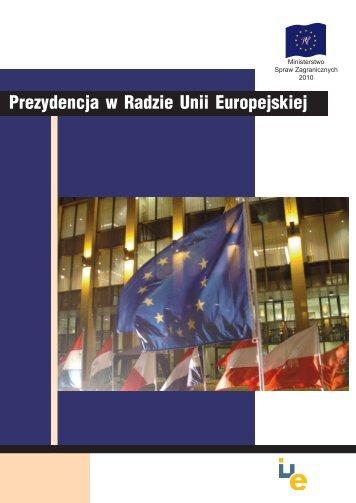 Prezydencja w Radzie Unii Europejskiej