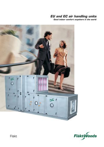 EU and EC air handling units - Invento PRO