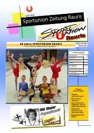 2004-2005 sportunion zeitung 40 jahre sportunion - Rauris