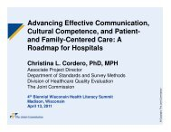 Advancing Effective Communication, Cultural Competence, and ...