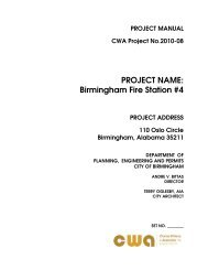 Project Name: Birmingham Fire Station #4
