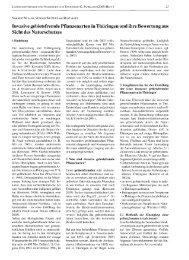 Invasive gebietsfremde Pflanzenarten in Thüringen und ihre ...