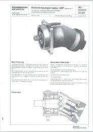 MANNESMANN Konstantpumpe/motor A2F ... - Group VH A/S