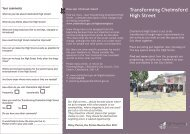 Summary leaflet - Chelmsford Borough Council