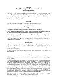 Satzung über die Erhebung einer Zweitwohnungssteuer in Kappeln