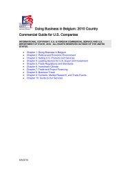 Doing business in Belgium - let's go export!