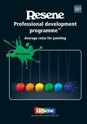 Average rates for painting - Resene