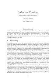 Ausarbeitung - Lehrstuhl für Effiziente Algorithmen