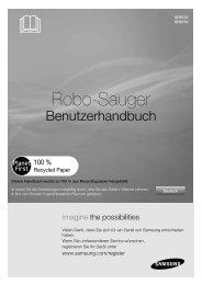 Bedienungsanleitung – Samsung Navibot Light - myRobotcenter