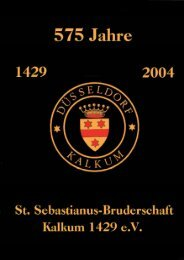 Untitled - Sankt Sebastianus Bruderschaft Düsseldorf-Kalkum 1429 ...
