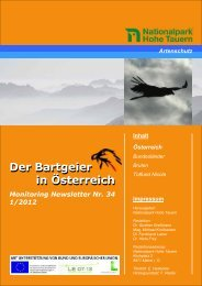 Newsletter Nr. 34 - Mai 2012 - Rauris