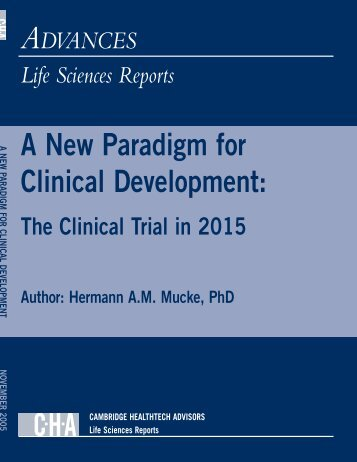 Clinical Trials to 2015 - Insight Pharma Reports