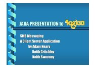 JAVA PRESENTATION to