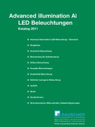 Advanced illumination Ai LED Beleuchtungen Katalog 2011