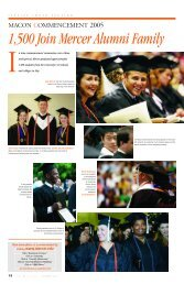 MACON COMMENCEMENT 2005 - Mercer University