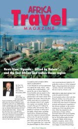 africa - air highways - magazine of open skies, world airlines