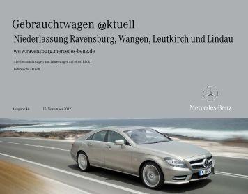 Unsere Standorte - Mercedes-Benz Niederlassung Ravensburg