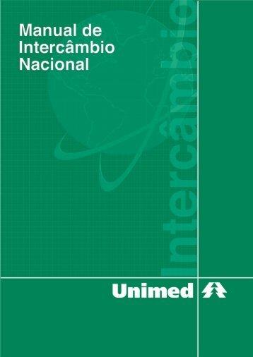 Manual de Intercâmbio Nacional - Unimed do Brasil