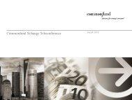 Materials - Commonfund
