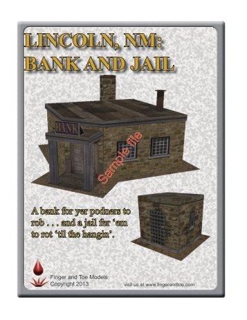 LINCOLN, NM: BANK AND JAIL - WarGameVault