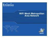 WiFi Mesh Metropolitan Area Network