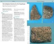 Die häufigsten Gesteine des Ost-Erzgebirges - Grüne Liga ...