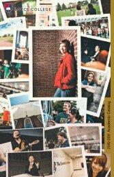 2010-2011 Academic Catalog BOYCE COLLEGE
