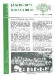 2004 St. Sebastianus Ausgabe - Jägercorps Neuss - Furth 1932