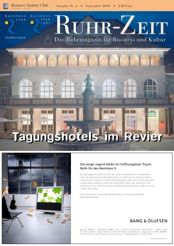 Tagungshotels im Revier - business club ruhr ev