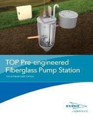 Flygt TOP Pre-engineered Fiberglass Pump Station - Water Solutions