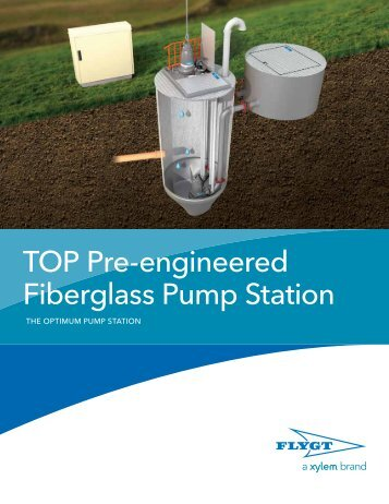 Flygt TOP Pre-engineered Fiberglass Pump Station - Water Solutions