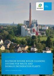 Boiler Cleaning Systems - Bilfinger Rosink GmbH