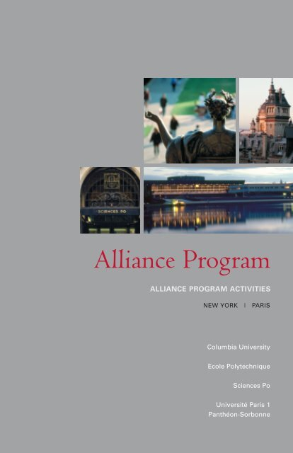 Alliance Program Columbia University